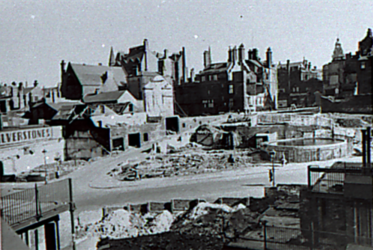 Blitz damage campo lane sheffield during the war for The sheffield