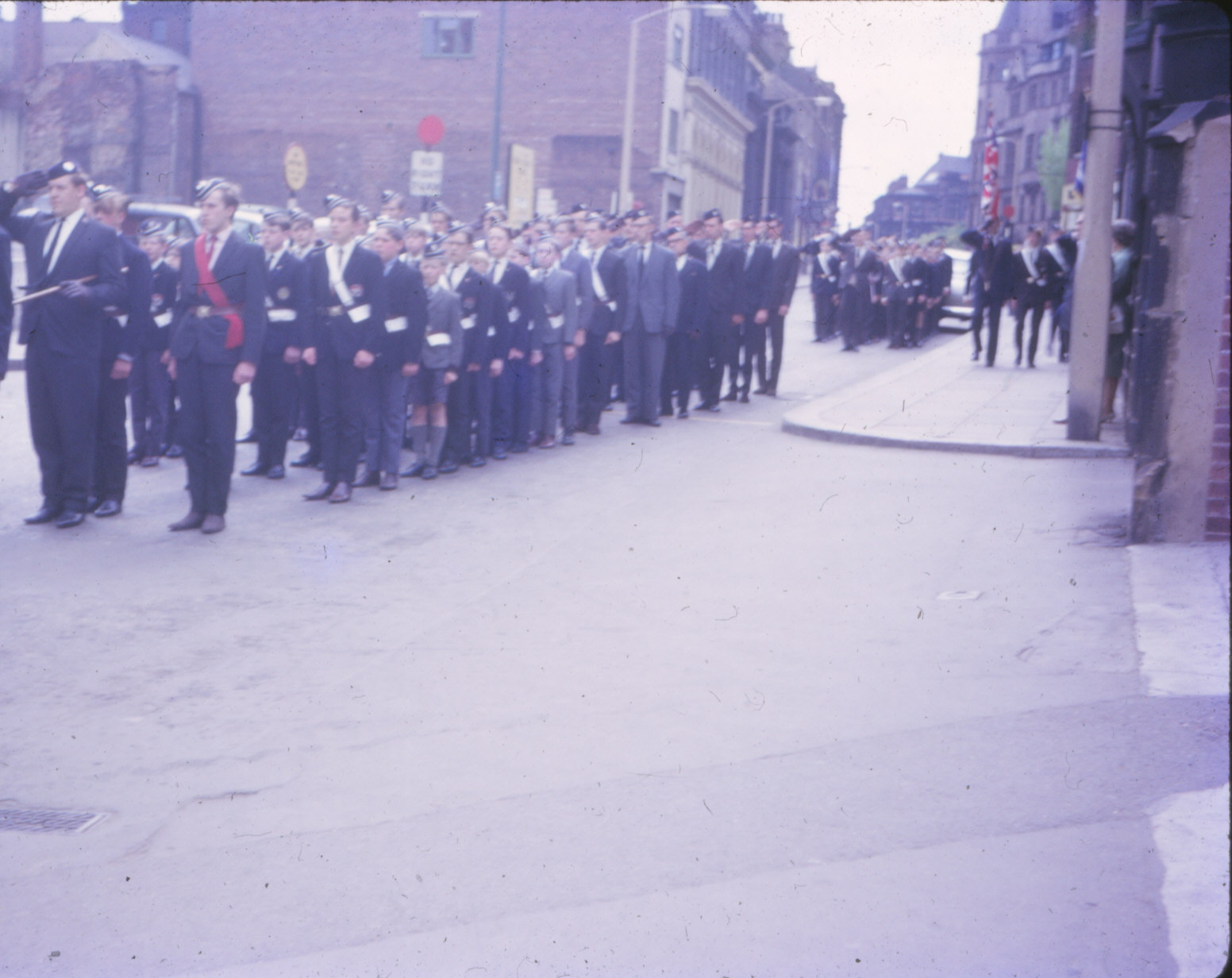 Boys Brigade, Sheffield Battalion, Parade 1965 June (3).jpg