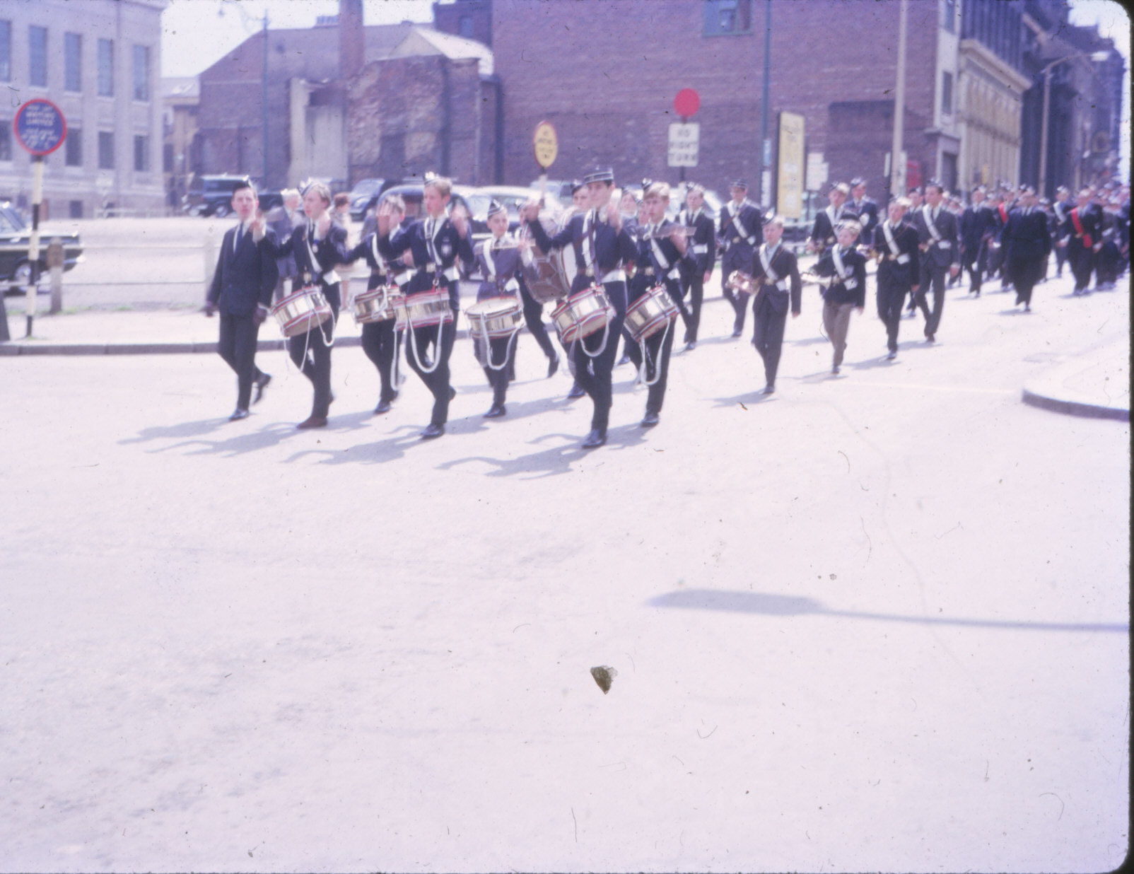 Boys Brigade, Sheffield Battalion, Parade 1965 June (4).jpg