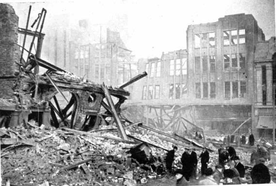 The Marples Sheffield War Years And The Sheffield Blitz