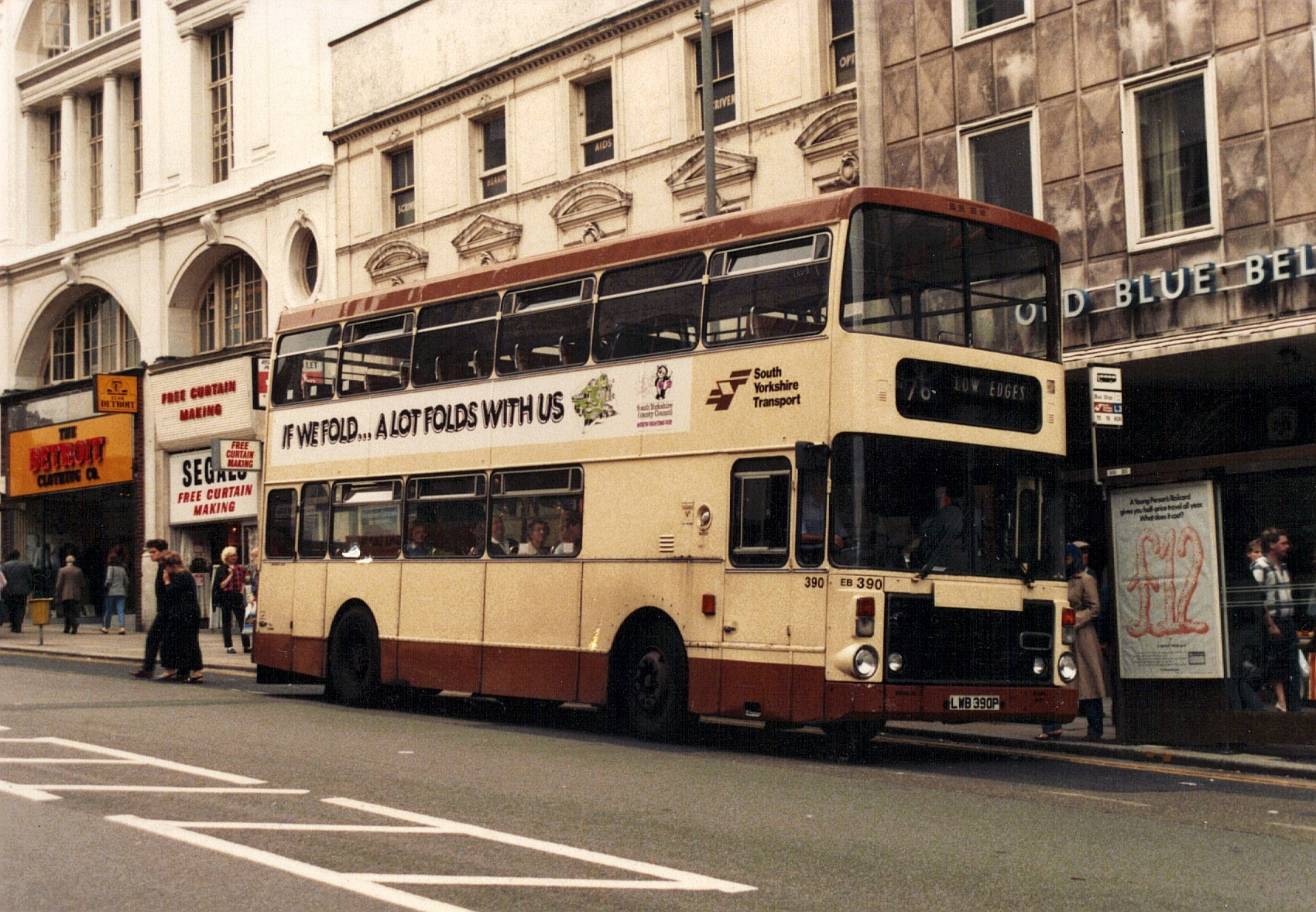 The great bus shortage c1980 sheffield transport for The sheffield