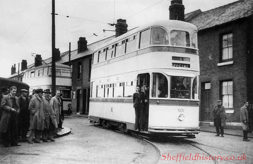 Rotherham single ended trams