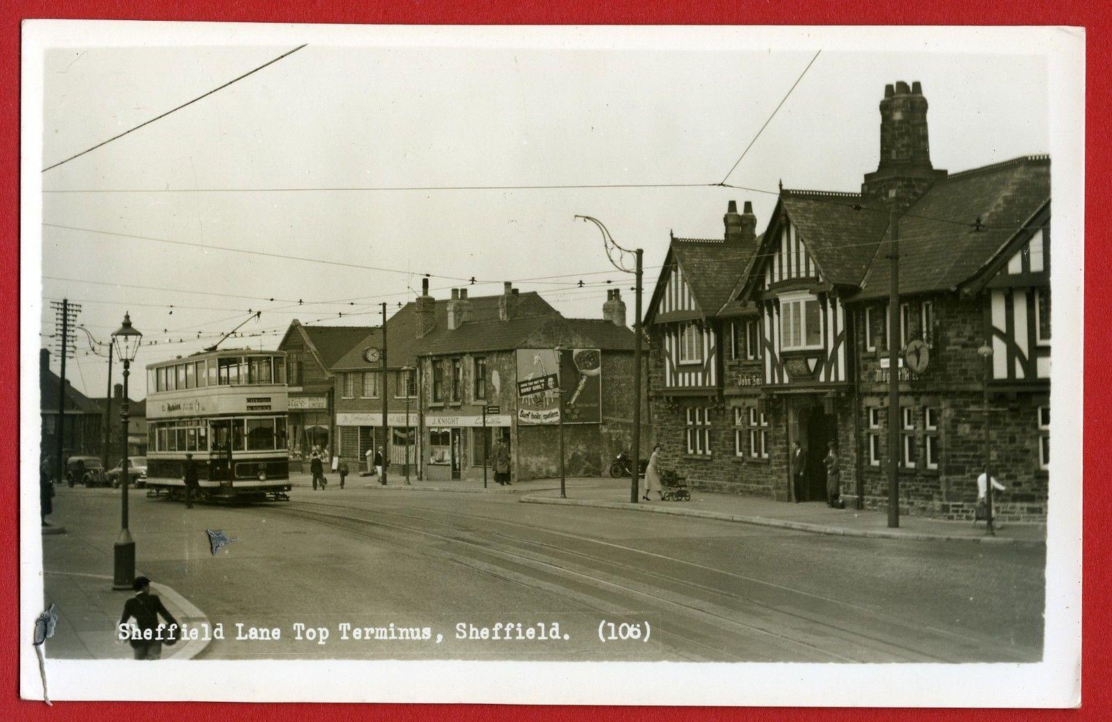 Image result for Sheffield lane top old images