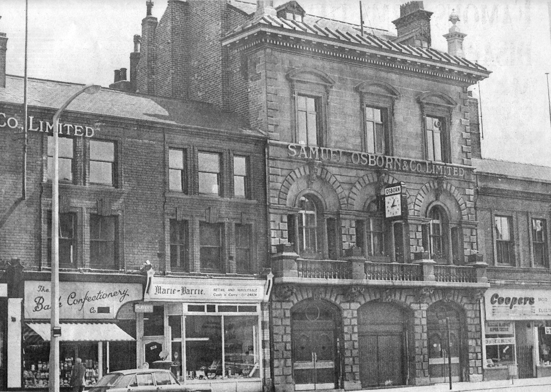 Building on the wicker sheffield history chat for The sheffield
