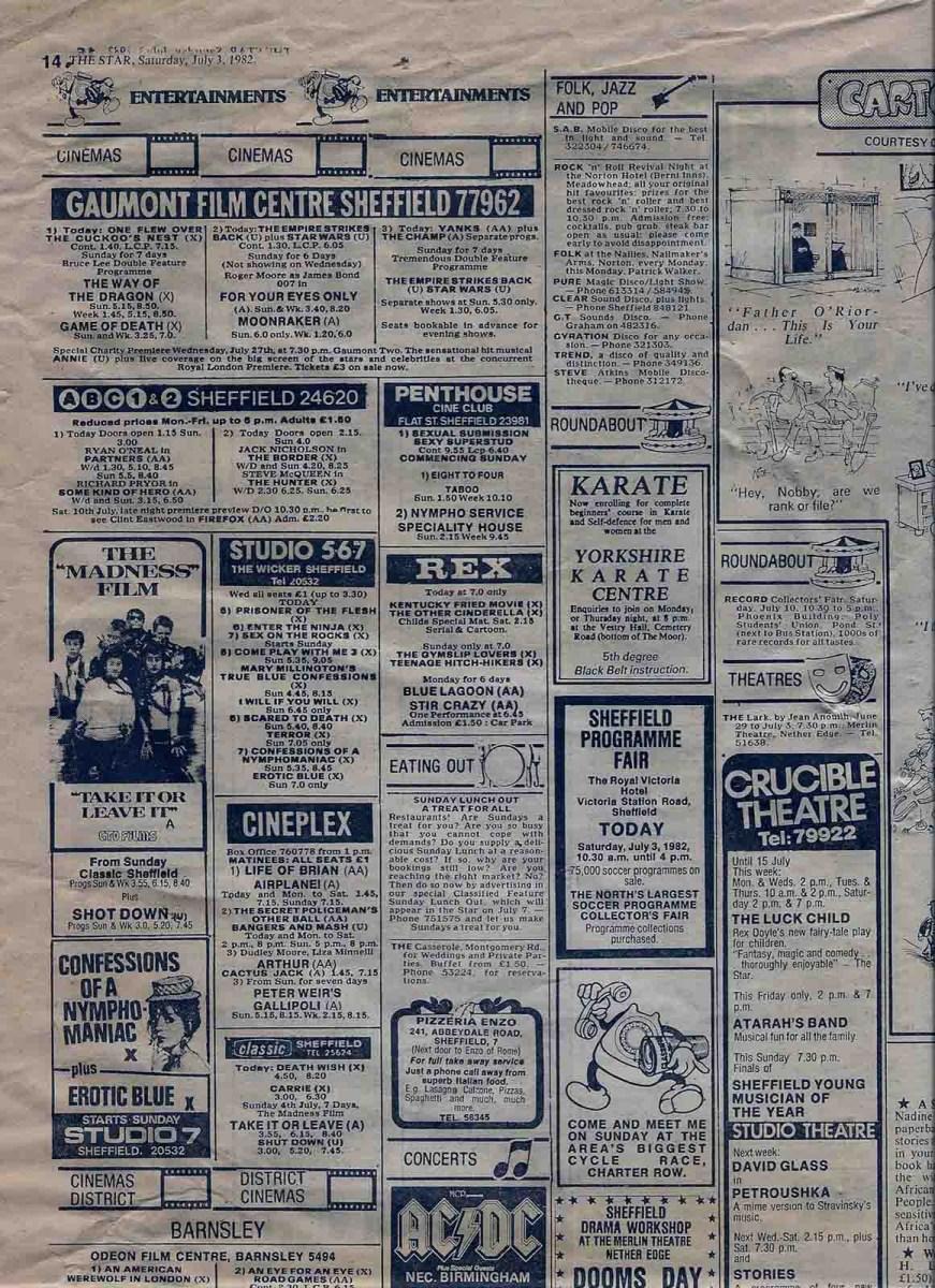 Cinema Listings Sheffield 36