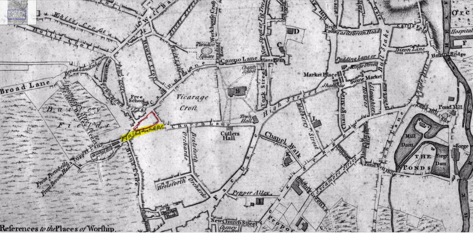 Pinfold Street, Sheffield 1771.JPG
