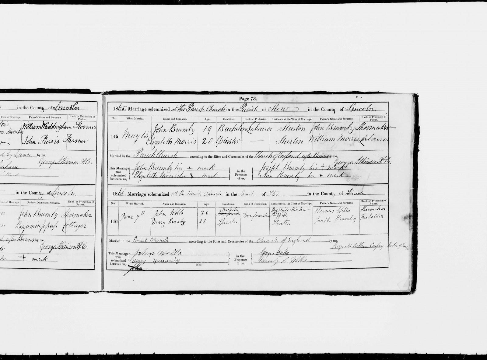 John  Mary Wells Marriage 1865.jpg