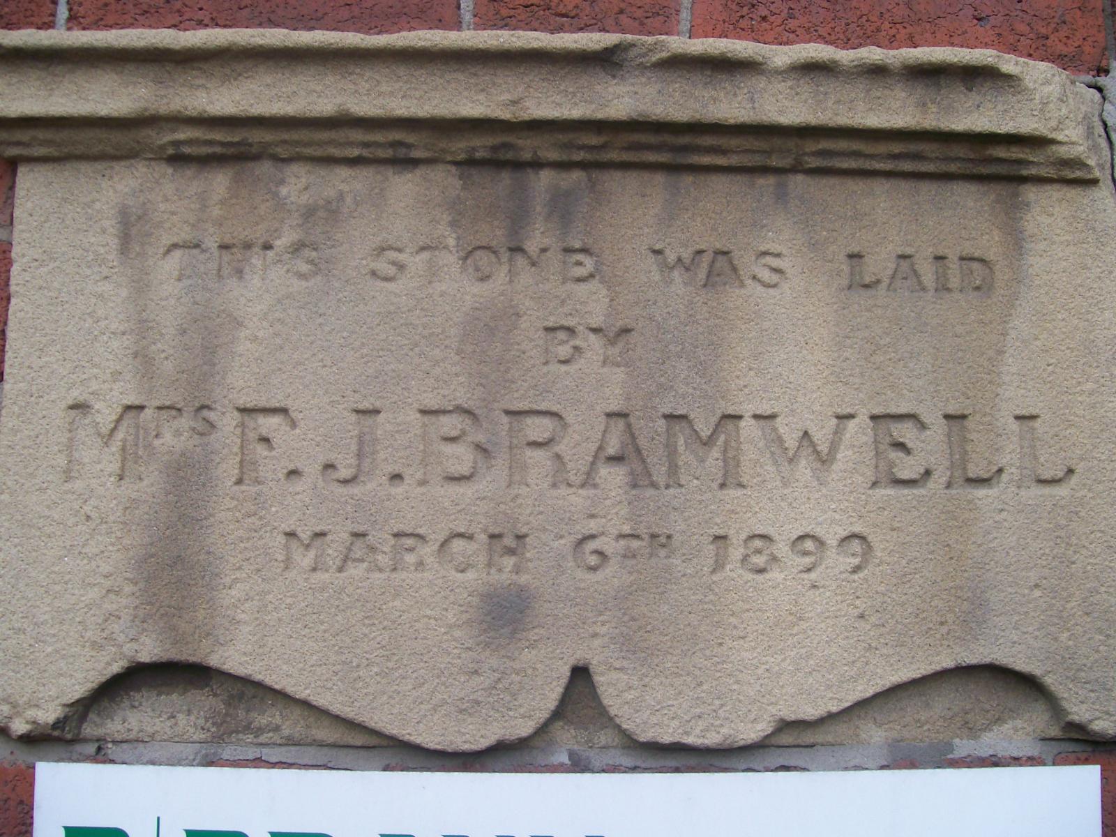 Allen Street Date Stone