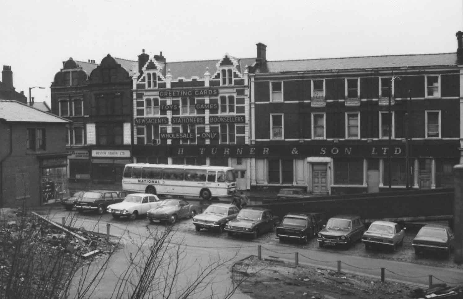 H Turner & sons West Bar 1976