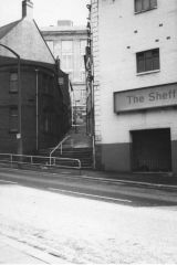Little Hill looking from Townhead St 1977