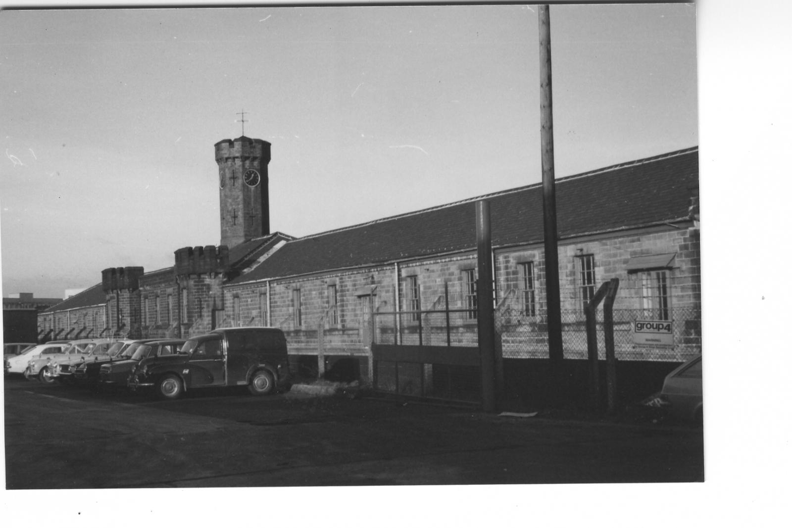 Hillsborough Barracks Medical Block? 1976