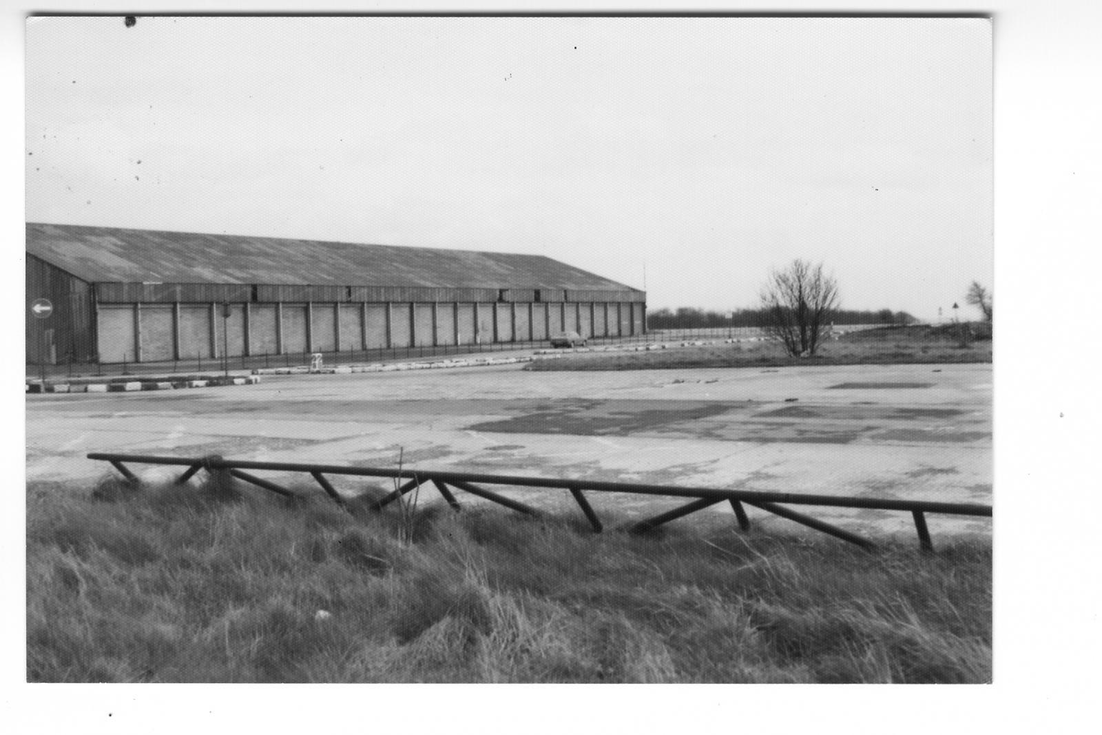 part of Norton aerodrome 1977