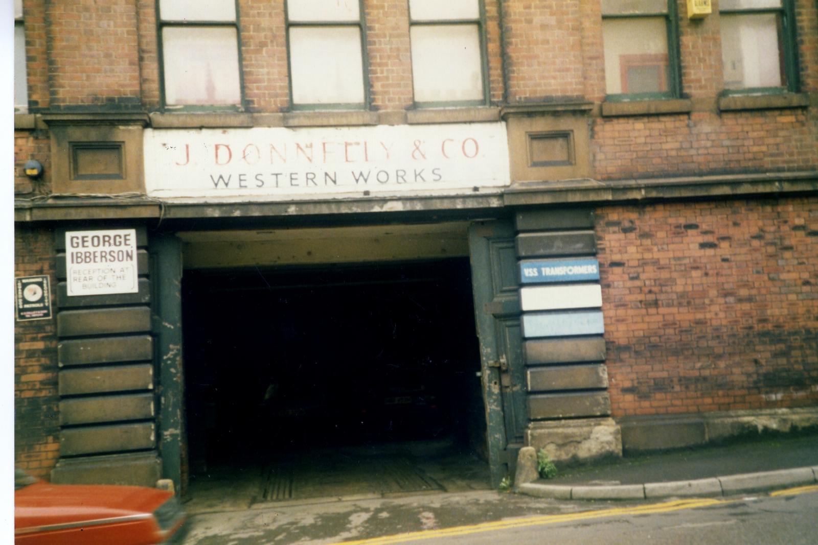 Western works entrance