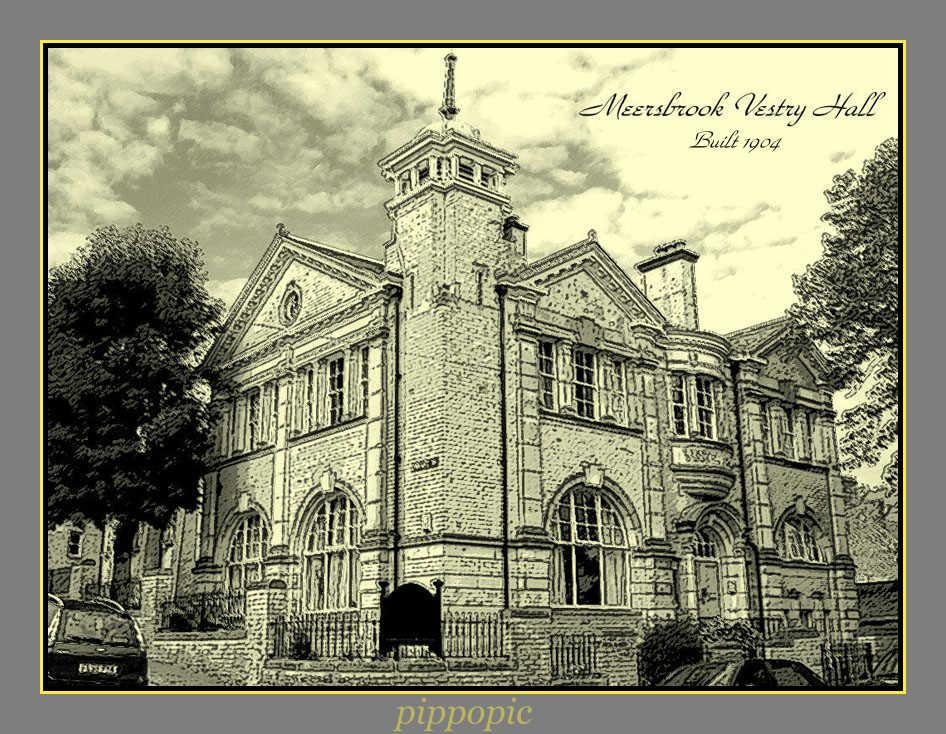 Meersbrook Vestry Hall, Meersbrook Road