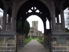 Ecclesfield Church through the lyche gate