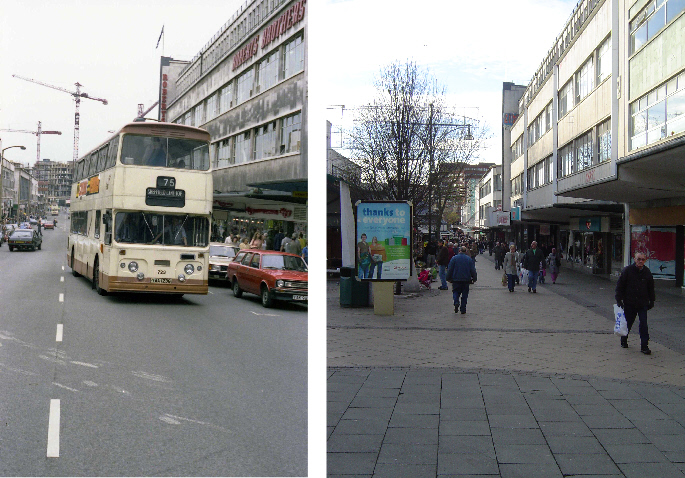 The Moor 1980/2008,  photos by bus man & DaveH
