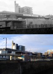 Castle Market 1974/2008. Photos by DaveH