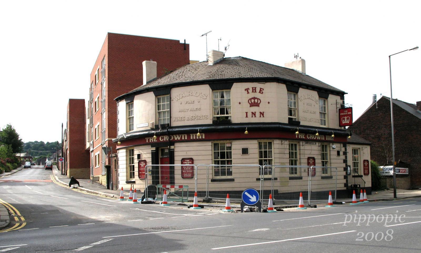 Crown Inn, Albert Road/London Road Sth, Heeley