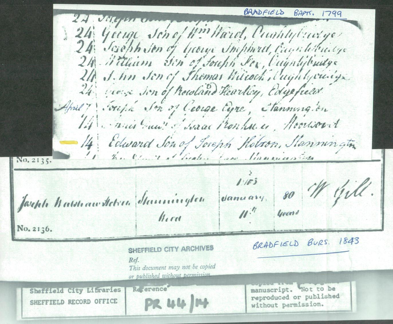 Edward son of Joseph Walshaw Hobson