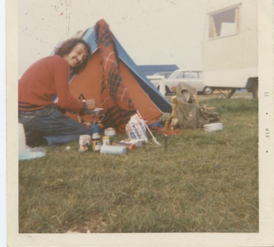 camping mick cooking