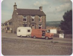 shay house lane tranny And caravan