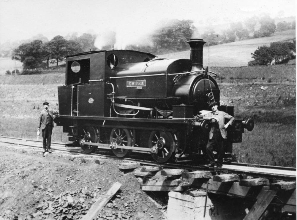 old steam railway