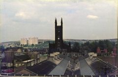 St marys church from the penthouse