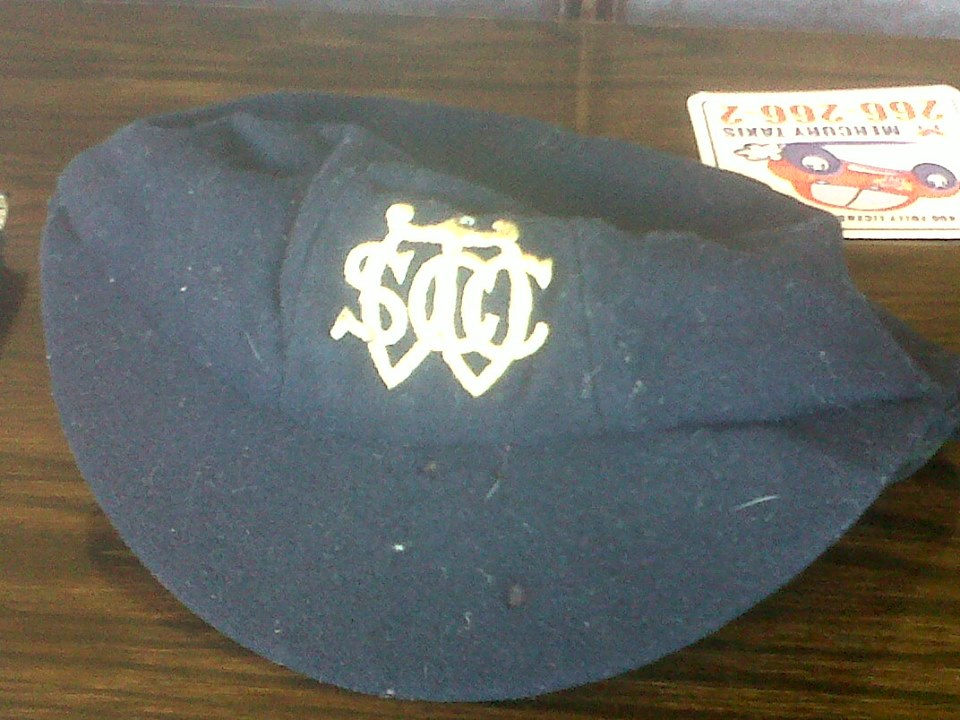 Late 19th C Early 20th C Wednesday Cricket Club Cap