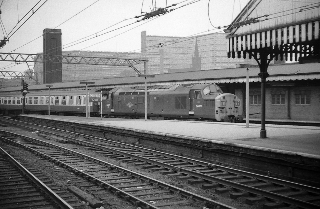 Sheffield Victoria South Yorkshire September 1969