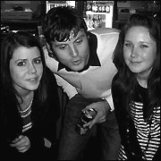 Jon and ladies in Liverpool