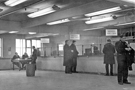 Interior, Sheffield Transport Depot, Tenter Street, mid 1960's