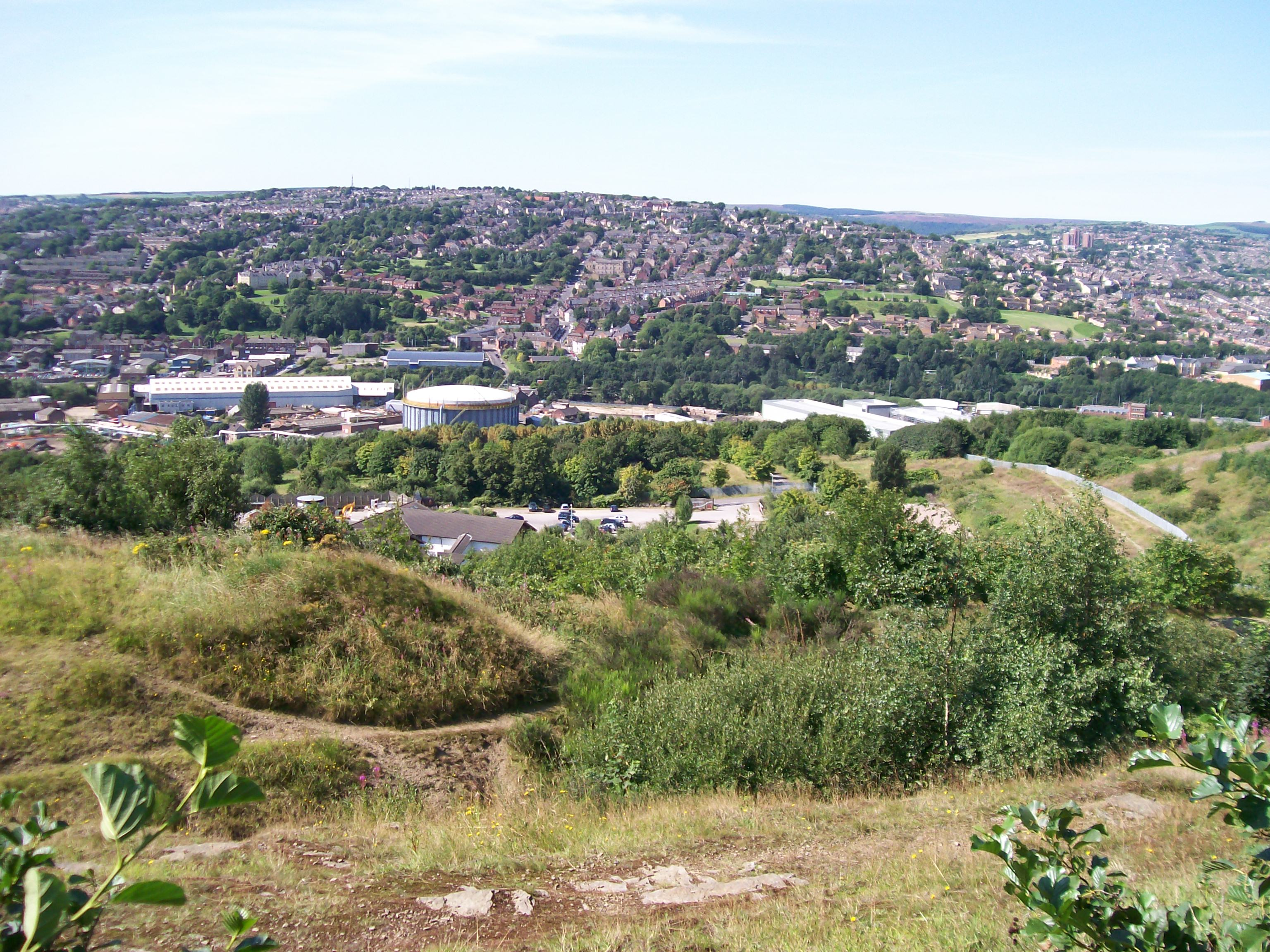 Where were the following districts of Sheffield please