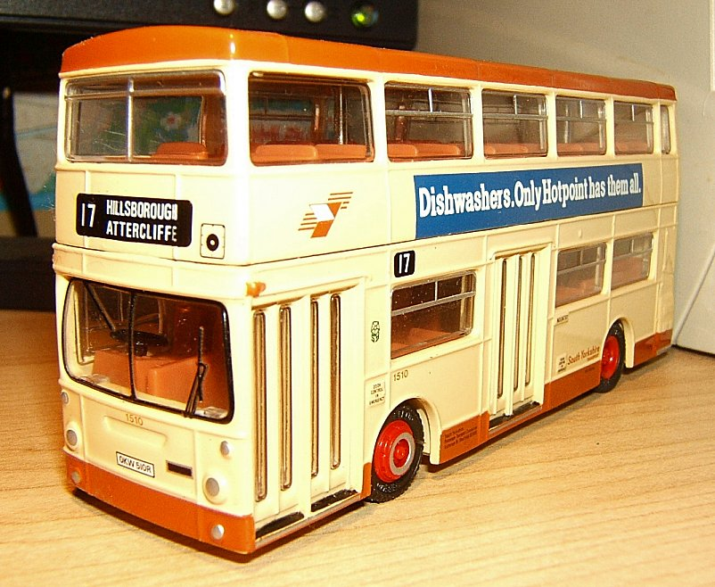 Sheffield buses replica toy models sheffield buses for Replica mobel england