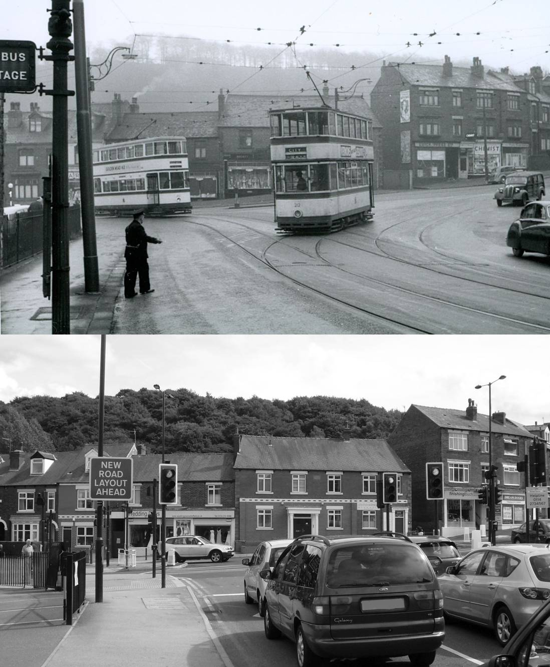 then now sheffield trams page 4 sheffield buses. Black Bedroom Furniture Sets. Home Design Ideas
