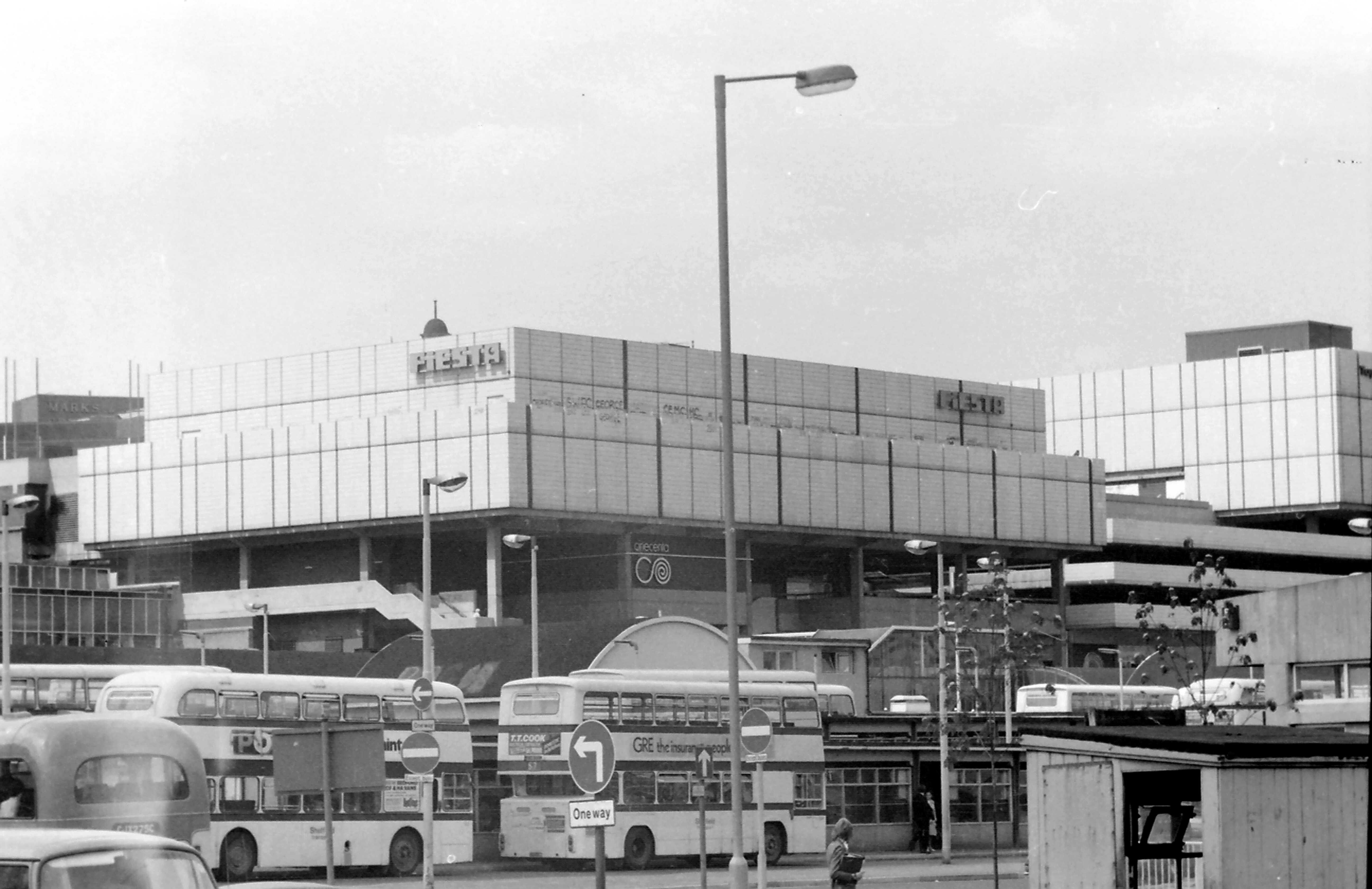 Pond Street Bus Station