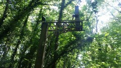 Old signal near to the old Chapeltown & Thorncliffe Railway Station.