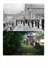 Chapeltown & ThorncliffeRailway Station.Then & Now
