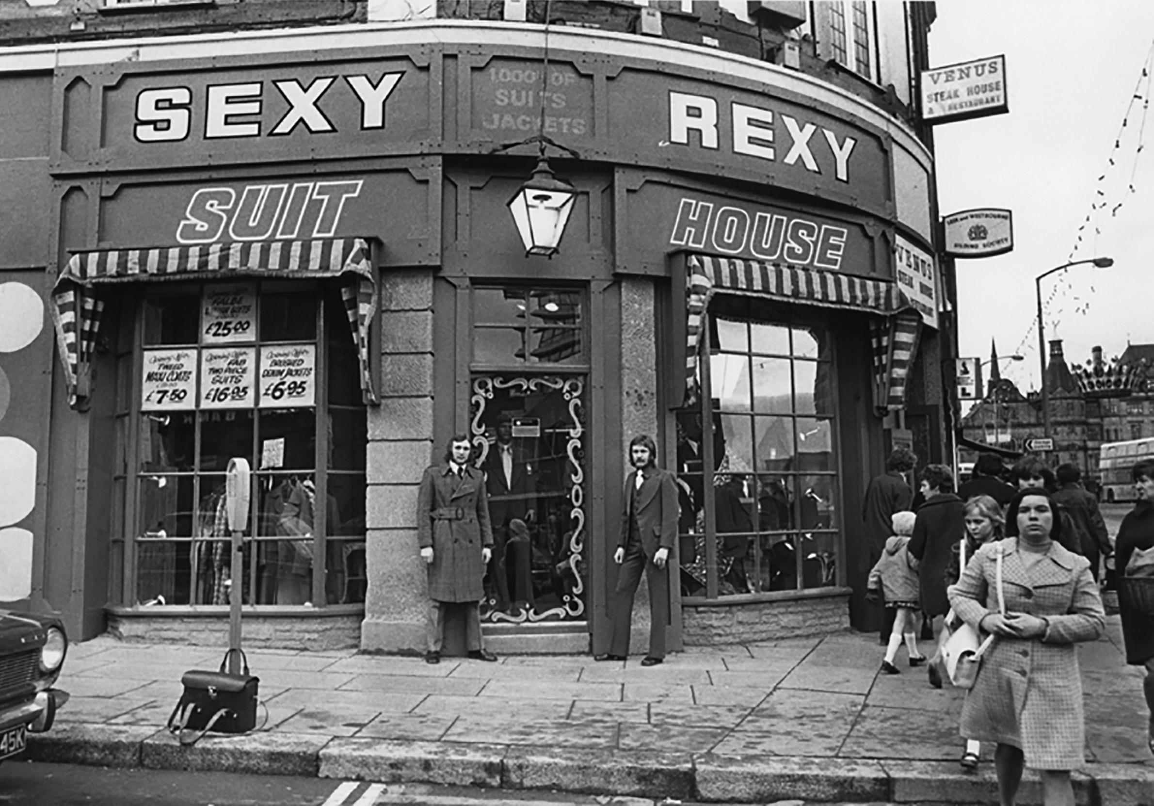 SEXY REXY clothes shop Sheffield city centre