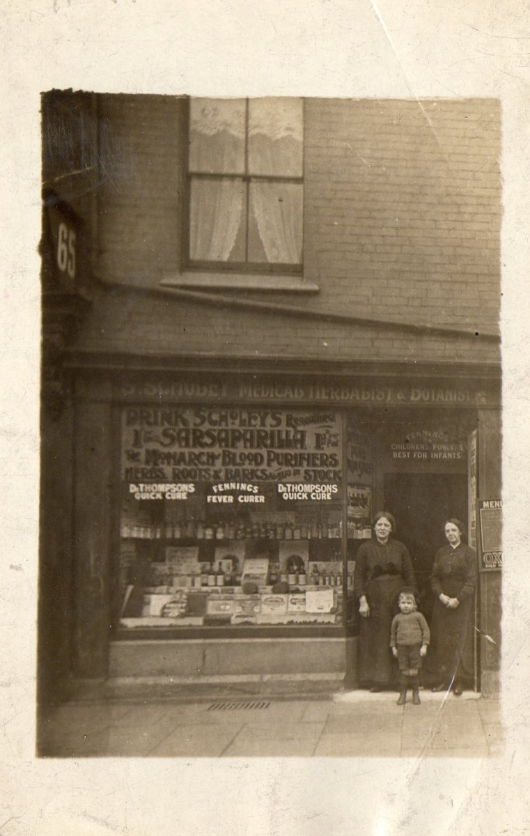 Reginald outside his parents herbalist shop in Clifton Park.jpg