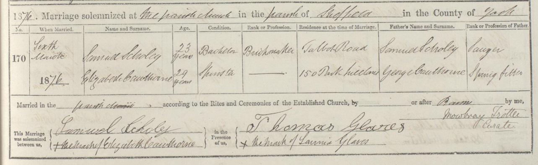 Samuel Scholey Marriage 1876.jpg