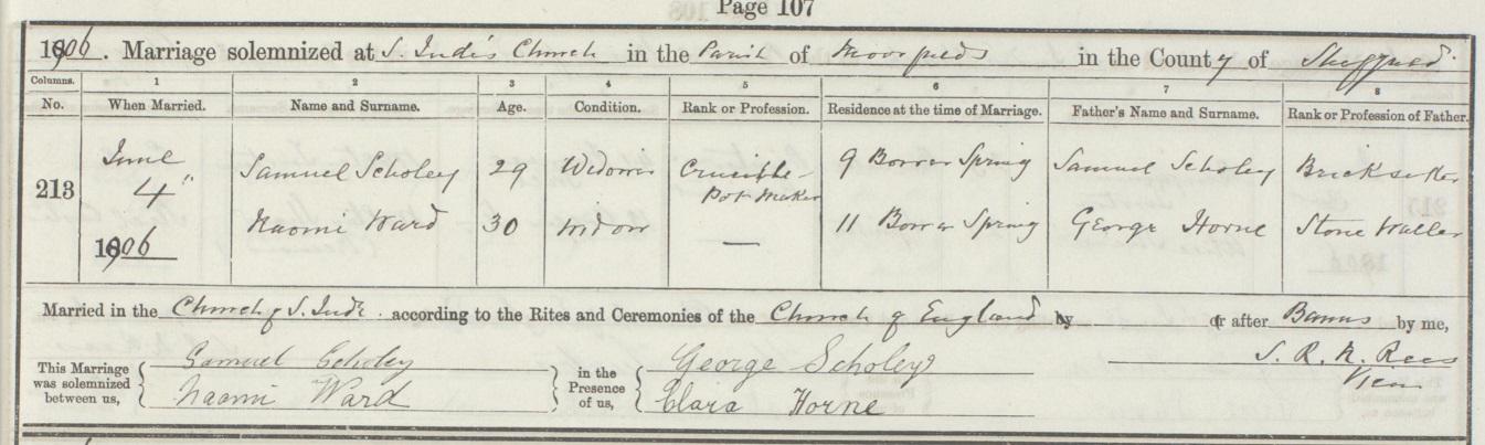 Samuel Scholey Marriage 1906.jpg