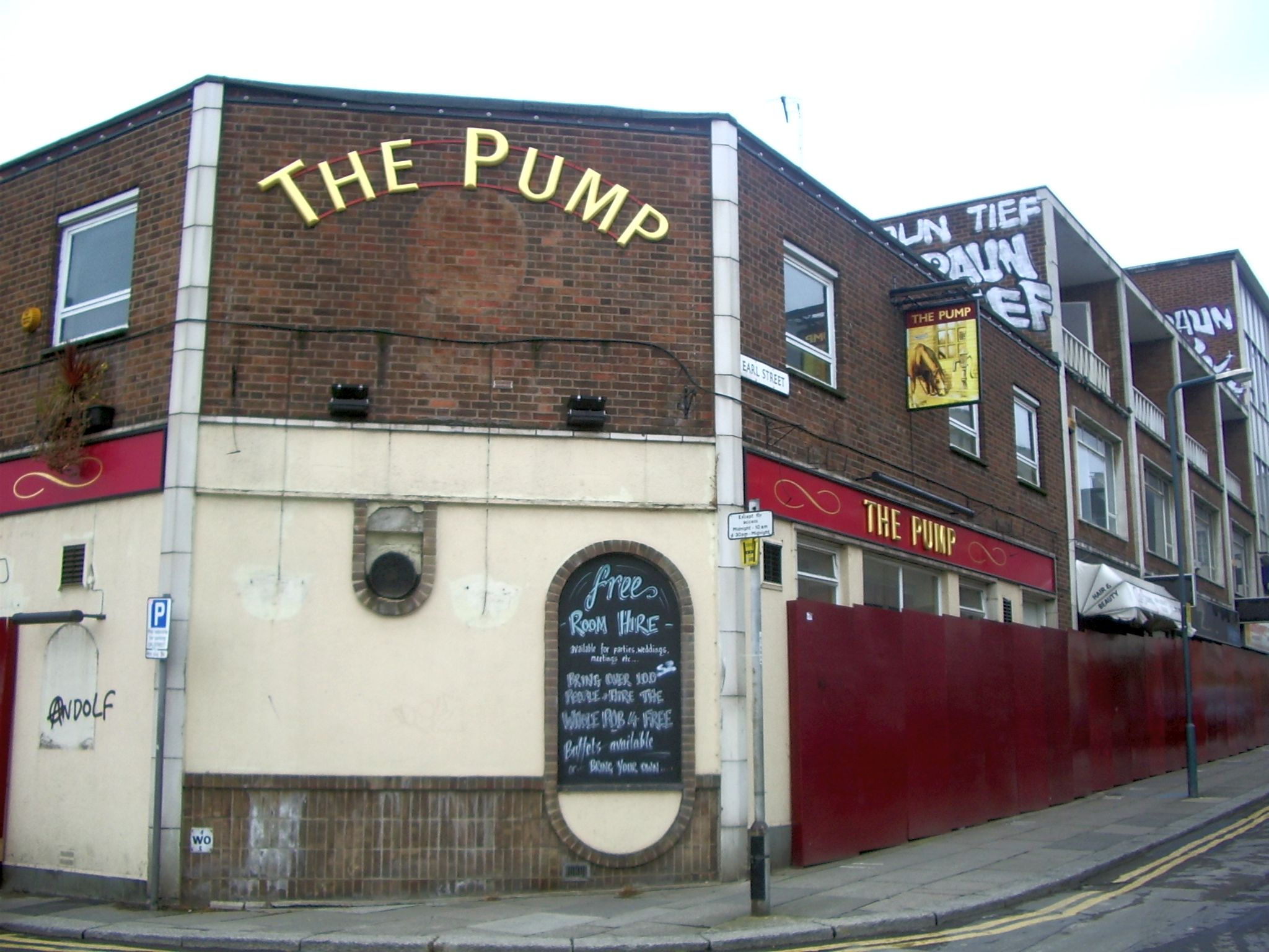 The Pump pub on the Moor, Sheffield