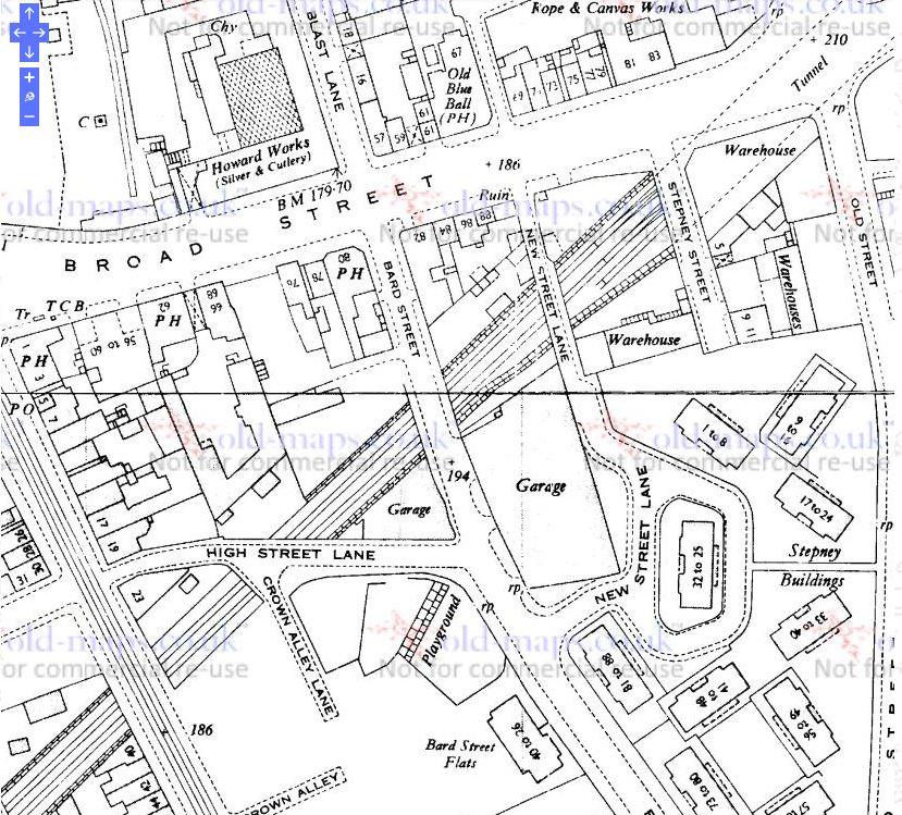 New Street Lane_1954.JPG