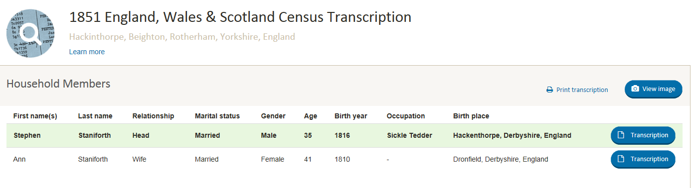 1851 Census Stephen and Ann.png