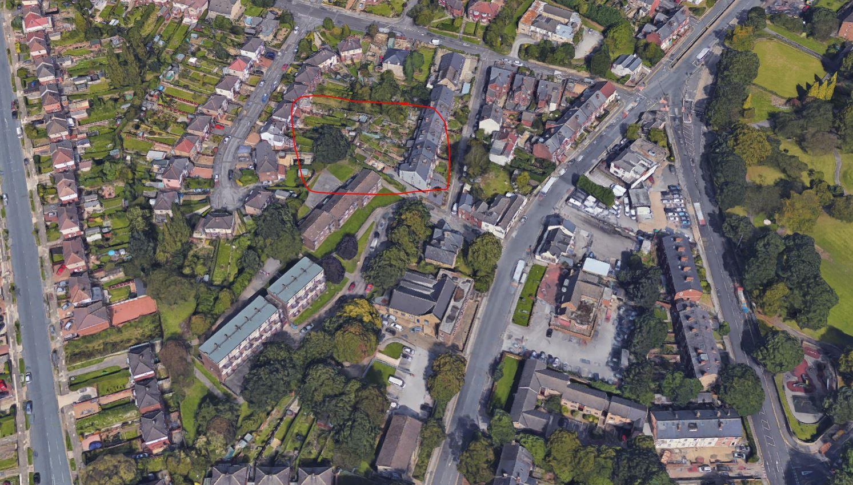 Pinfold Lane, Pitsmoor_Aerial.JPG