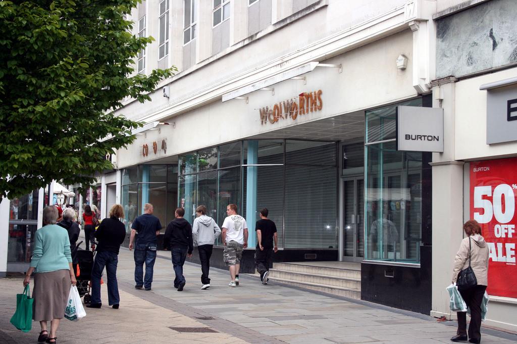 WOOLWORTHS shops in Sheffield