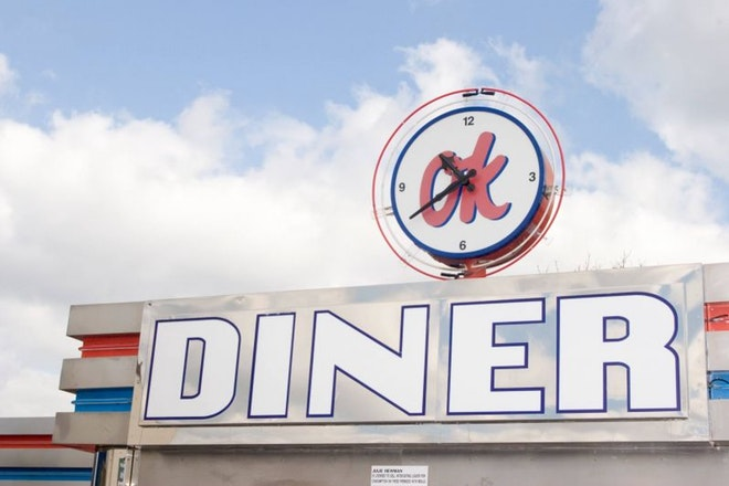 OK Diner at Wadsley Bridge on Halifax Road