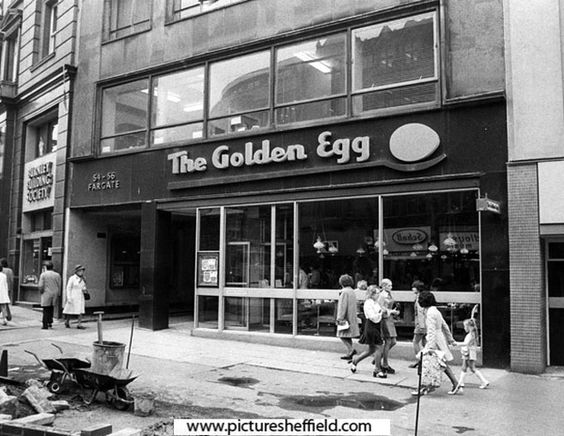 THE GOLDEN EGG Restaurant on Fargate