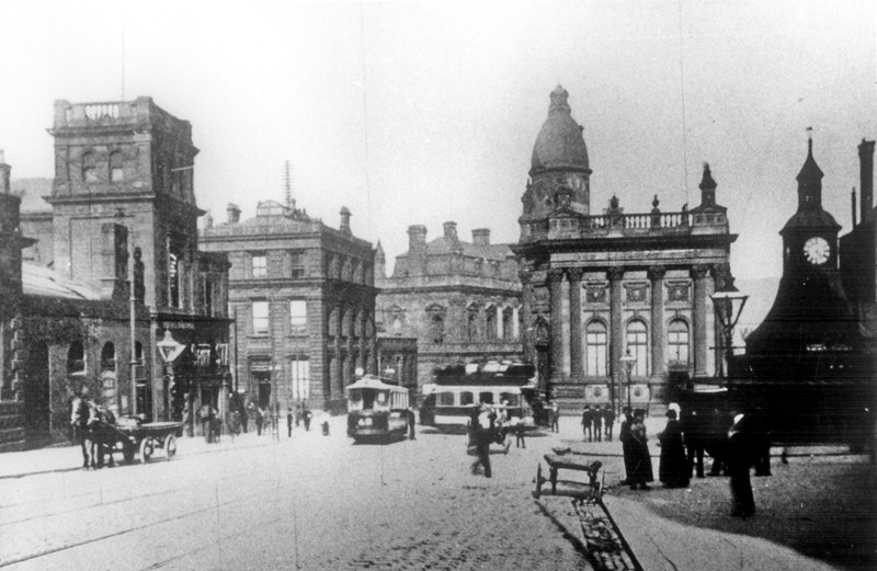 The General Post Office on Commercial Street and Haymarket