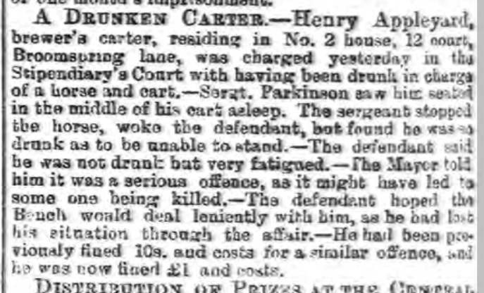 Sheffield Independent 11 10 1892 The British Newspaper Archive Henry drunk.jpg